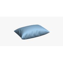 Ткань для штор однотонная хлопок с тефлоном небесно-голубого цвета