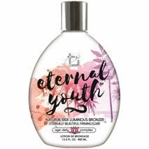 Крем для засмаги в солярію Eternal Youth 100X з прозорими бронзантами