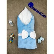 Конверт-одеяло Dobryi Son 7-02 Dobryi Son Зимний Голубой 80