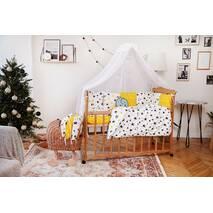 Комплект постельного белья для новорожденных с защитой-бортиками Верона - 2 Короны