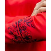 """Джемпер Batiar з вишивкою """"Роза"""" червоний XS"""