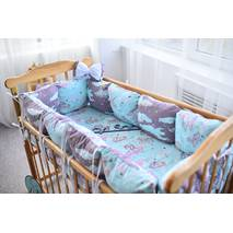 Комплект постельного белья Облачко Фиолетовый