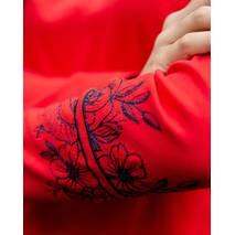 """Джемпер Batiar з вишивкою """"Роза"""" червоний S"""