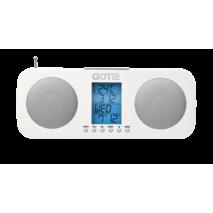 Радіогодинник GOTIE GRA - 200b
