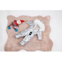 Комбінезон дитячий зимовий на овчині Natalie Look Silver 86-92 см сріблястий