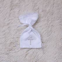 Мешочек для первых волосиков Жемчуг белый