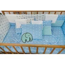 Комплект постельного белья Eco 3 Minky Бело-голубой