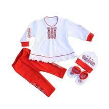 Нарядний костюм для дівчинки Вышиваночка