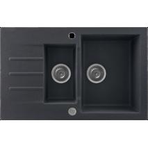 Кухонне миття KERNAU KGS A 6079 1,5b1d BLACK METALLIC