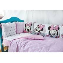 Комплект постельного белья Микки Розовый