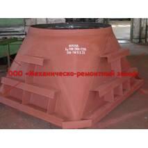 Переход стальной ДУ 1400-2000*2200
