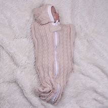 Кокон Weave для новорожденных карамель