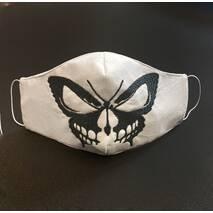"""Захисна маски для обличчя """"Butterfly"""" біла"""