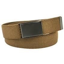 Чоловічий тканинний ремінь гумка Braces 4 см для джинсів коричневий 110-135 см   (BR1661)