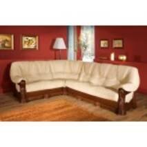 Кожаный диван угловой Exodus 3Rx1