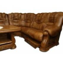 Кожаный диван угловой CHEVERNY 3Rx1