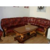 Кожаный диван угловой Roma 3Rx1