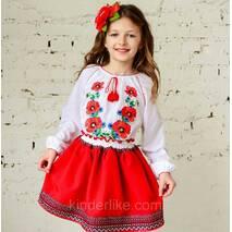 Спідничка українська (червона)
