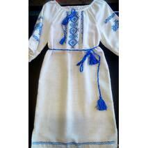 Платье для девочки  лляное