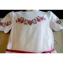 Дитяче плаття з вишивкою