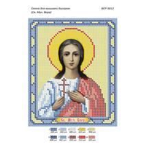 Схема для вышивки бисером иконы '' Св.муч.Вера.  ''
