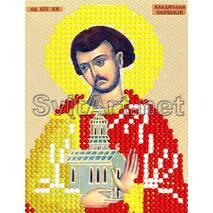 Схема для вишивки бісером  Св. Владислав  7*9см А6