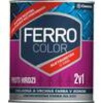 Фарба Chemolak Ferro Color напівглянсова чорна 0,75л. (RAL 9005)