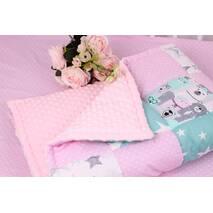 Детское теплое одеяло мишки
