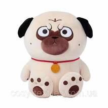 """Дитячий плед  покривало іграшка """"Собачка мопс"""""""
