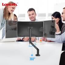 Настільне кріплення для монітору Loctek DLB851 White