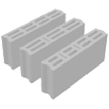 Бетонные вибропрессованные блоки ПБ-ПР 10