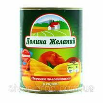 "Персики половинки 820г ""ТОРЕДО"" же/бы (1/12)"