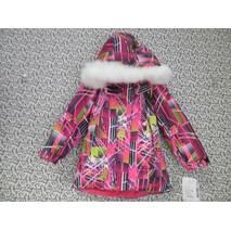 Термо куртка зима ТМ Garden Baby Малиновый, 110