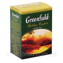 """Чай """"Грінфілд"""" 100г Черный Golden Ceylon (1/14) 669"""