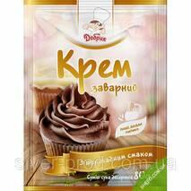 """Крем заварной шоколадный """"Добрик"""" 80г (1 * 10/60)"""