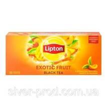 "Чай ""Ліптон"" 25п*1,8г Персик, Манго, Малина (Super Tasty Exotic Fruit) (1/24)"