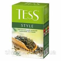 """Чай """"Тесс"""" 90г Style, Green [Зеленый Крупнолистовой] (1/14) 5032"""