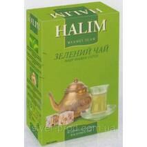 """Чай """"Halim"""" 80г Зеленый листовой (1/16)"""