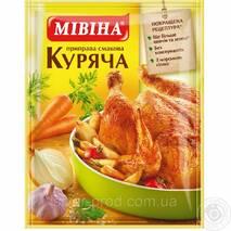 """Приправа вкусовая Куриная 80г """"МІВІНА"""" (1/60)"""