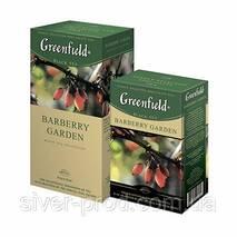"""Чай """"Гринфилд"""" 25п * 1,5г Черный Barberry Garden (Барбарис) (1/10) 638"""