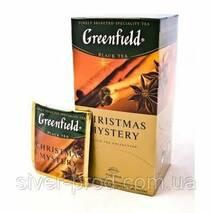 "Чай ""Гринфилд"" 25п * 1,5г Черный Christmas Mystery (Пряности) (1/10) 642 **"