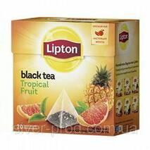 """Чай """"Липтон"""" 20п * 1,8г Тропические Фрукты (Tropical Fruit) пирамидка"""