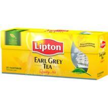 "Чай ""Ліптон"" 25п*2г Черный Earl Grey (1/24)"