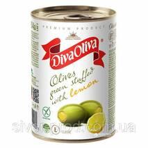 Оливки с лимоном 300г DIVA OLIVA (1/12)