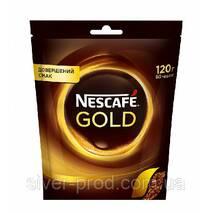 """Кофе """"Нескафе"""" Голд растворимая 120г м/в (1/16)"""