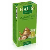 """Чай """"Halim"""" 25п * 1,5г Зеленый КОНВЕРТ (1/12)"""