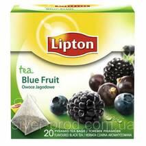 """Чай """"Липтон"""" 20п * 1,7г Лесные Ягоды (Blue Fruit) пирамидка (1/12)"""