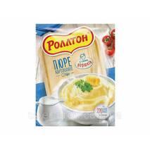 "Пюре картопляне пакет 40г Вершки ""Роллтон"" (1/24)"