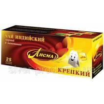 """Чай """"Лисма"""" 25пх2г Черный Крепкий (1/108 или 36)"""