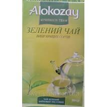 "Чай ""Alokozay Tee"" 90г Зеленый Листовой (1/30)"